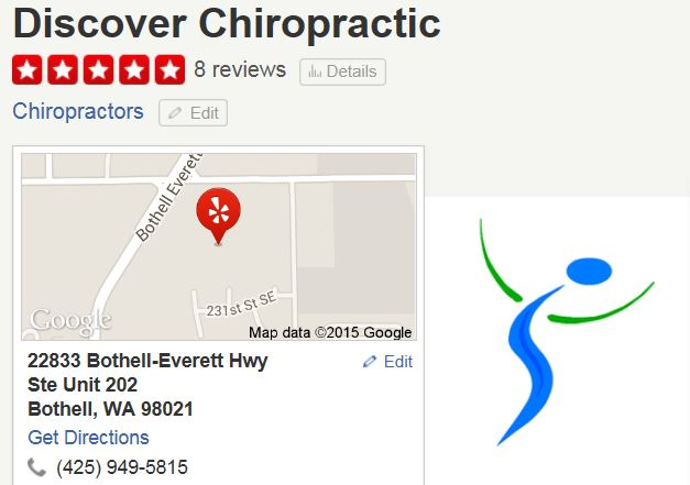 Discover Chiropractic Bothell 5 Star Reviews