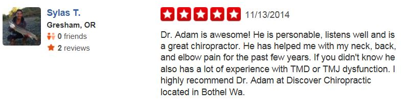 Discover Chiropractic Bothell Review 3